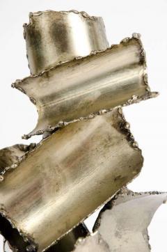 Brutalist Torch Cut Steel Sculpture by Marcello Fantoni - 775572