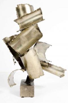 Brutalist Torch Cut Steel Sculpture by Marcello Fantoni - 775573