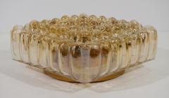 Bubble Amber Tone Flush Mount - 158209
