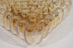 Bubble Amber Tone Flush Mount - 158212