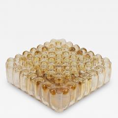 Bubble Amber Tone Flush Mount - 163645