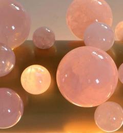 Bubble Ring Rock Crystal Chandelier by Phoenix - 1992805