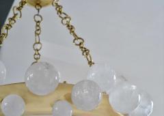 Bubble Ring Rock Crystal Chandelier by Phoenix - 2042503