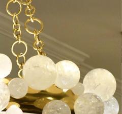 Bubble Ring Rock Crystal Chandelier by Phoenix - 2042505
