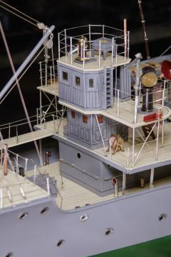 Builders Dockyard Model of the ACACIA Class Sloop H M S HONEYSUCKLE of 1915 - 542338