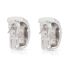 Bulgari Parentesi Diamond Earrings in 18K White Gold 0 5 CTW - 1364344