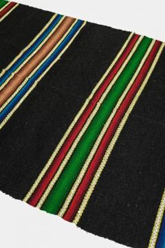 Bulgarian Tcerga runner hand woven 60s - 1891047