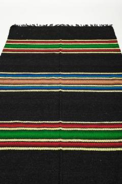 Bulgarian Tcerga runner hand woven 60s - 1891065