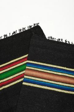 Bulgarian Tcerga runner hand woven 60s - 1891076