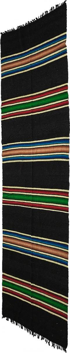 Bulgarian Tcerga runner hand woven 60s - 1892223