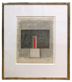 Burgoyne A Diller Untitled Study for Wood Sculpture  - 1125314