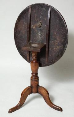Burl Oak Tripod Table - 663843