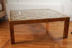 Burl Wood Coffee Table - 1007504