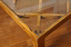 Burl Wood Coffee Table - 1007505