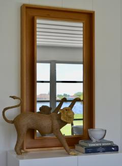 Burlap Monkey Statue - 1029582