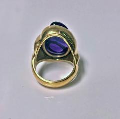 Burle Marx Style 18 Karat Amethyst Ring Secrett circa 1970 - 1457584