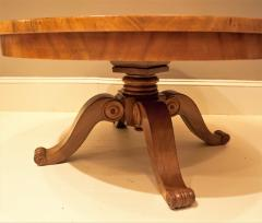 Burled Walnut Coffee Table Made From Center Table Circa 1825 Northern Europe - 1794232