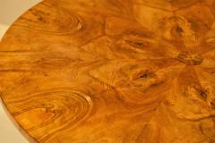 Burled Walnut Coffee Table Made From Center Table Circa 1825 Northern Europe - 1794234