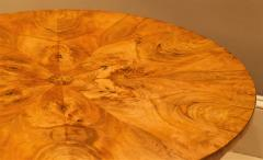 Burled Walnut Coffee Table Made From Center Table Circa 1825 Northern Europe - 1794235