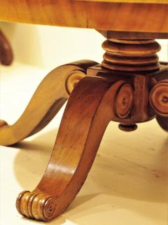 Burled Walnut Coffee Table Made From Center Table Circa 1825 Northern Europe - 1794236
