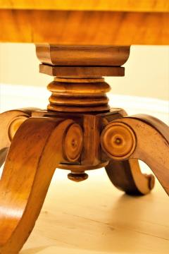 Burled Walnut Coffee Table Made From Center Table Circa 1825 Northern Europe - 1794237