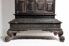 Burmese Temple Manuscript Cabinet With Original Patina - 1140517