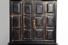 Burmese Temple Manuscript Cabinet With Original Patina - 1140518