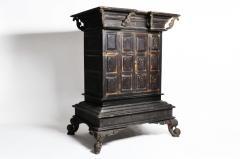 Burmese Temple Manuscript Cabinet With Original Patina - 1140522
