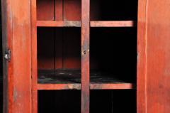 Burmese Temple Manuscript Cabinet With Original Patina - 1140523