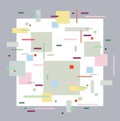 Burton Kramer All That Jazz 2 lyrical geometric abstraction by Burton Kramer - 720978