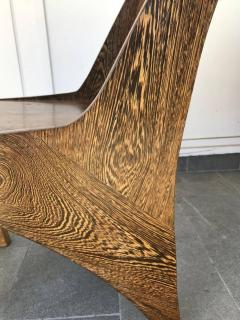 Butterfly Solid Wenge And Zebra Wood Chair   631377