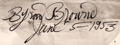 Byron George Byron Browne Bather  - 1218276