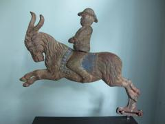 C W Parker Arcade Shooting Gallery Target Man Riding Goat by C W Parker - 385334