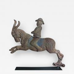 C W Parker Arcade Shooting Gallery Target Man Riding Goat by C W Parker - 387332