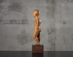 CARVED WOOD STANDING CHILD - 1018892