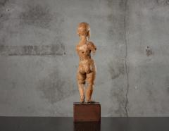 CARVED WOOD STANDING CHILD - 1018895