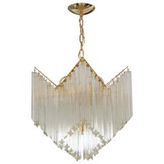 CASCADING GLASS PRISM CHANDELIER - 1044495