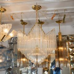 CASCADING GLASS PRISM CHANDELIER - 1044496