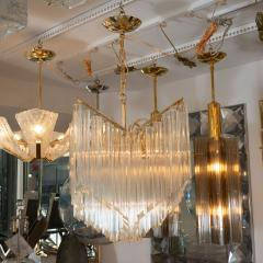 CASCADING GLASS PRISM CHANDELIER - 1044497