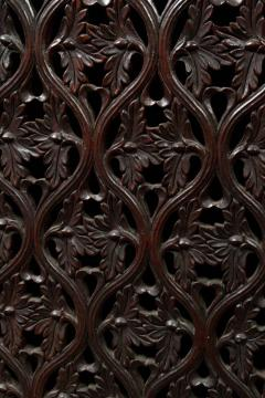 CH 24 Fine William IV Period Anglo Indian Rosewood Cabinet - 259799