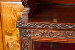 CH 24 Fine William IV Period Anglo Indian Rosewood Cabinet - 259802