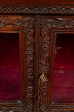 CH 24 Fine William IV Period Anglo Indian Rosewood Cabinet - 259804