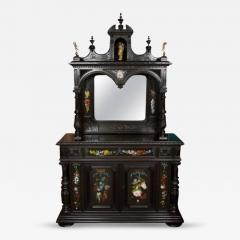 CH 26 Fine Renaissance Style Ebonized Cabinet - 259806