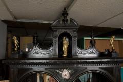 CH 26 Fine Renaissance Style Ebonized Cabinet - 259808