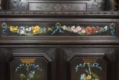 CH 26 Fine Renaissance Style Ebonized Cabinet - 259813