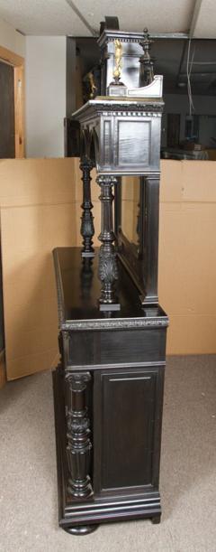 CH 26 Fine Renaissance Style Ebonized Cabinet - 259814