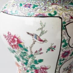 CHINESE FAMILLE ROSE PORCELAIN VASE CONVERTED TO A LAMP - 1269229