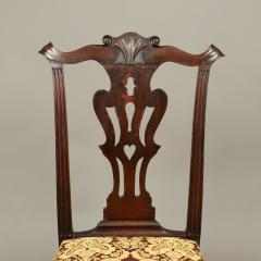 CHIPPENDALE CARVED SIDE CHAIR - 1908446