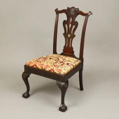 CHIPPENDALE CARVED SIDE CHAIR - 1908447