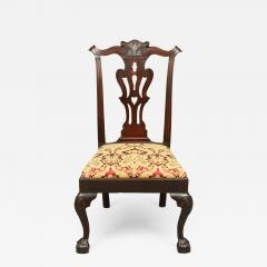 CHIPPENDALE CARVED SIDE CHAIR - 1909672